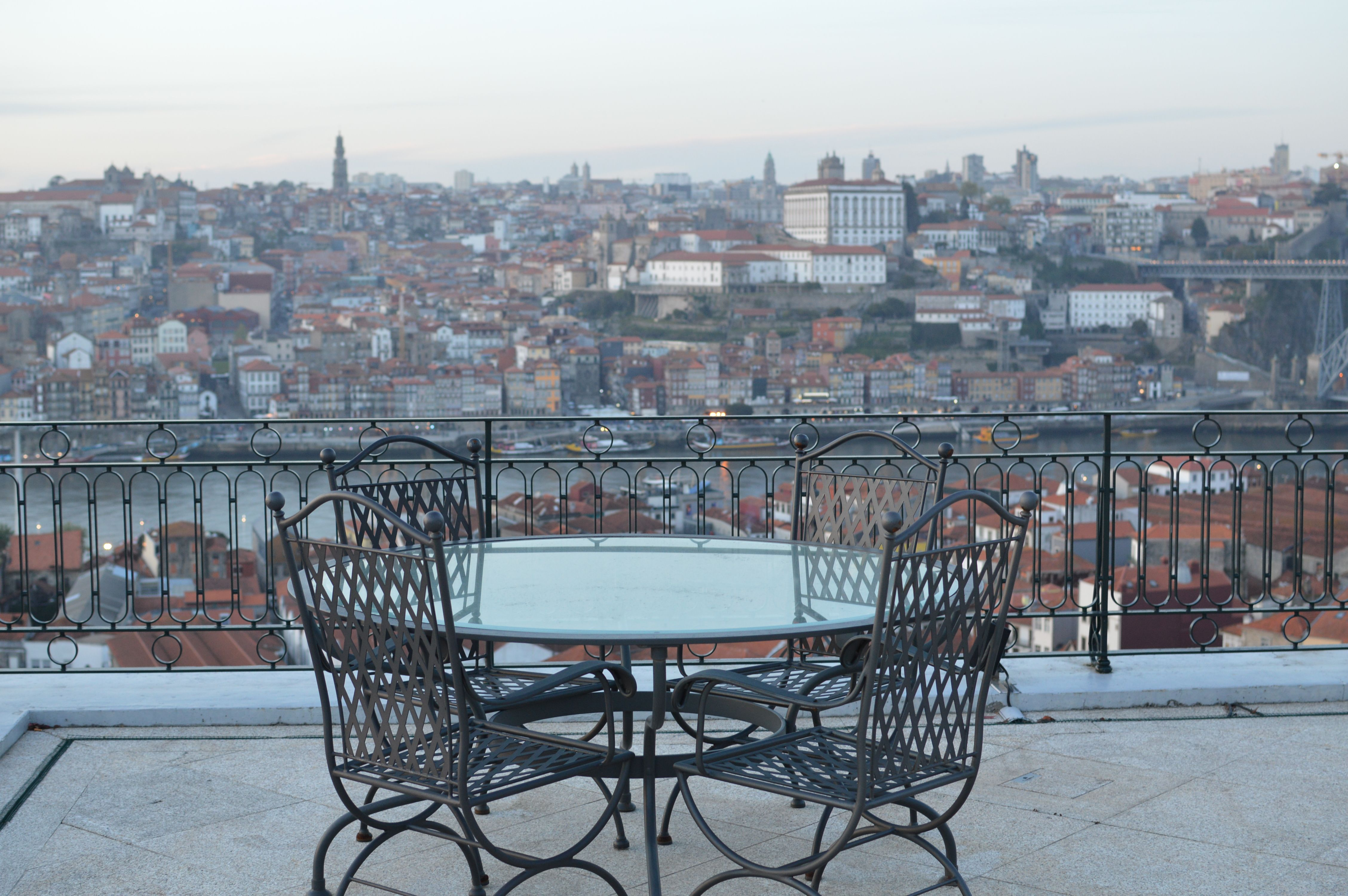 terraço do Yeatman Hotel - Porto