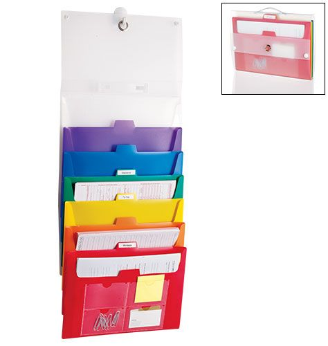 Large Cascading Filing System Snap closures and handle for
