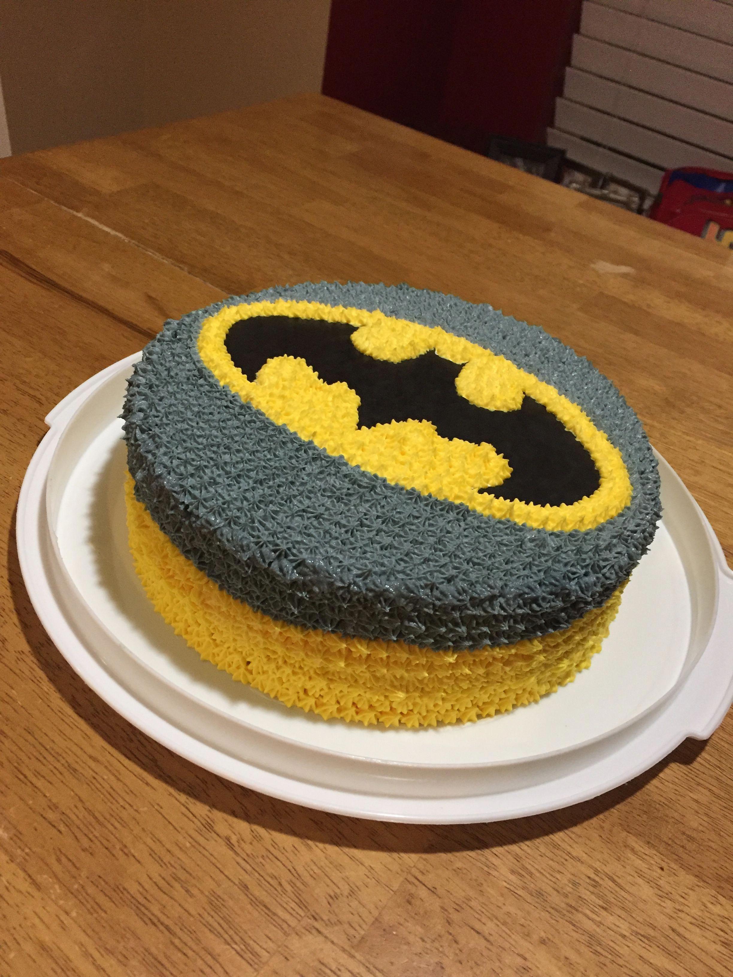 Batman Cake Easybatmancake Cakes In 2019 Batman Birthday