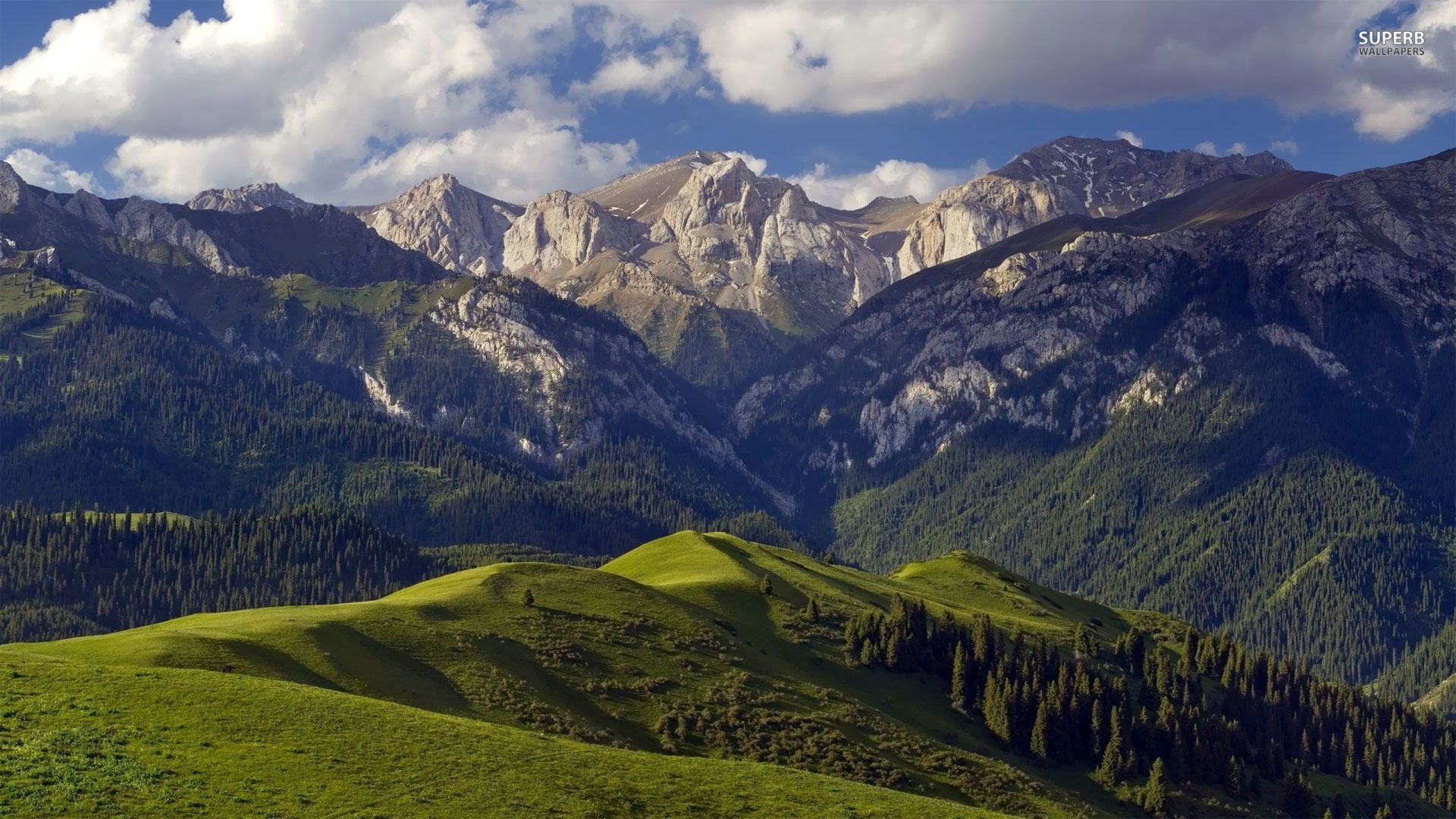 Mountains Nature Background For Computer With Images Mountain