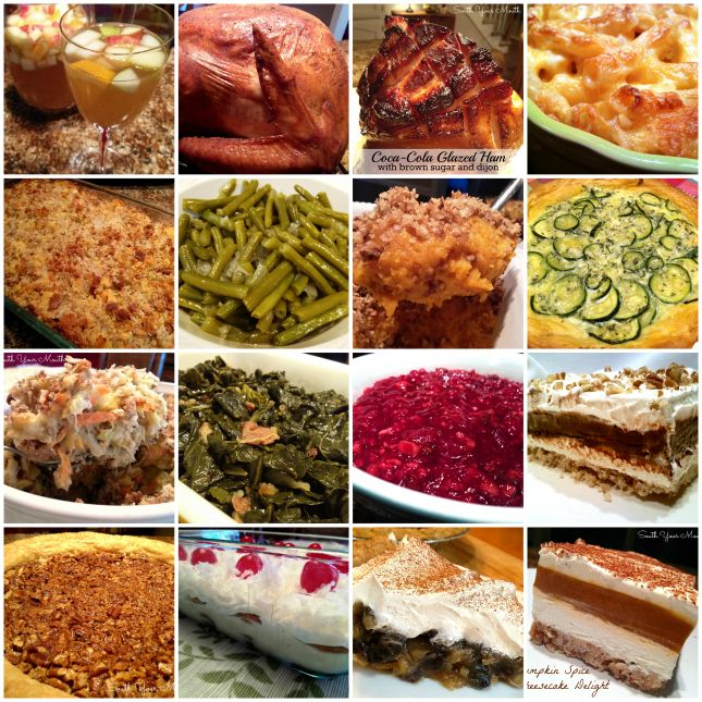 16 scratch made thanksgiving recipes including jive turkey for Traditional southern thanksgiving dinner menu