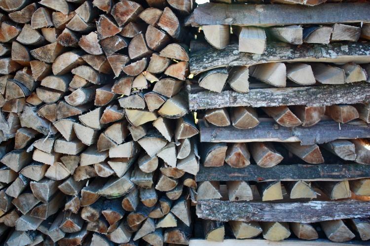 Brennholz Kaminholz Feuerholz in top Qualität m Natur, Floristik