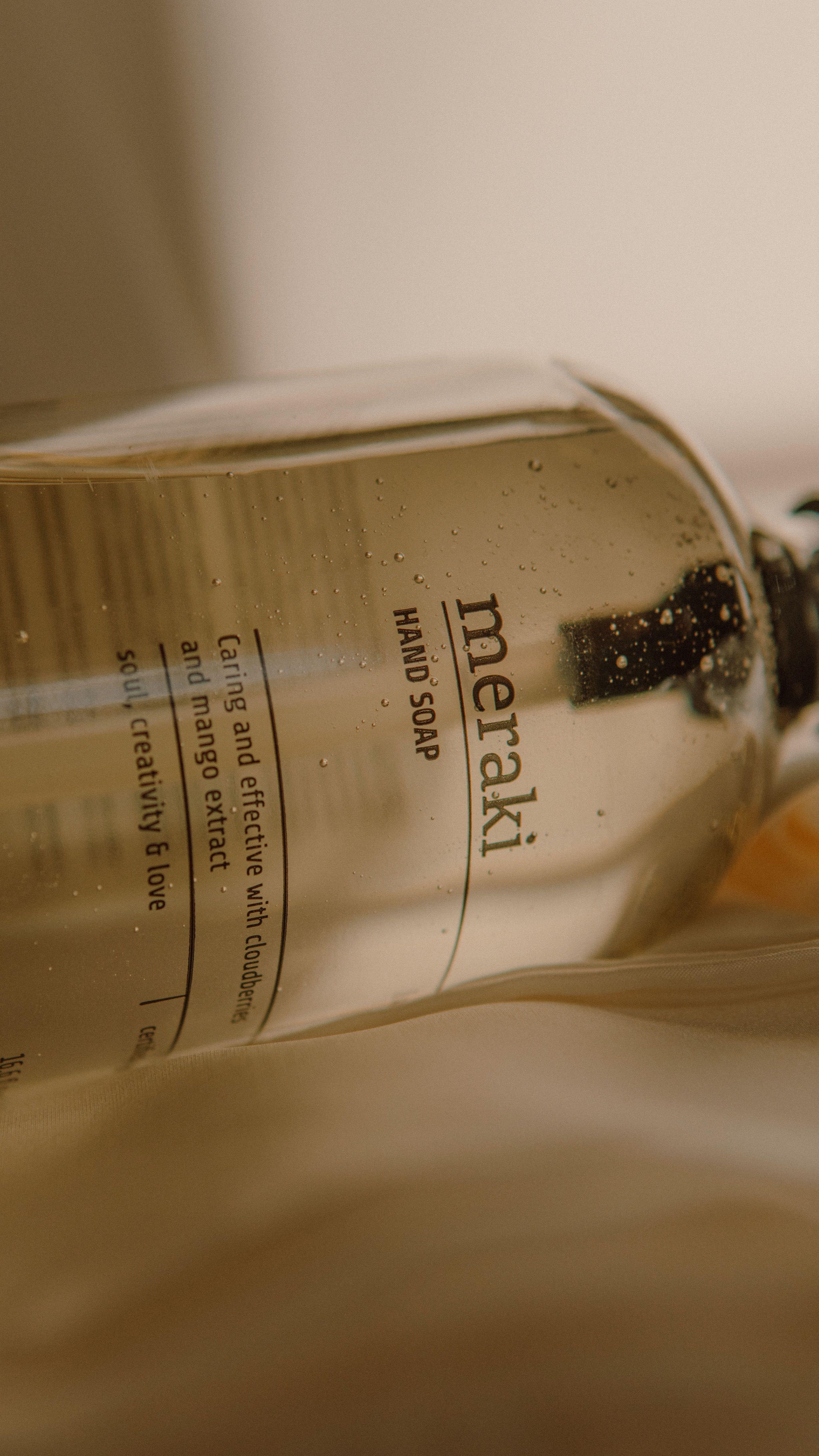 Shadow Product Photography for Meraki Organic Soap