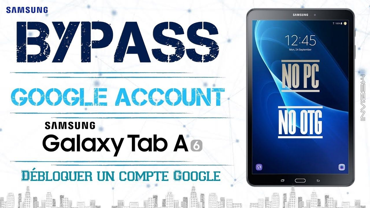 Bypass Google Account SAMSUNG Tab A (6) T580 NO PC NO OTG | bypass