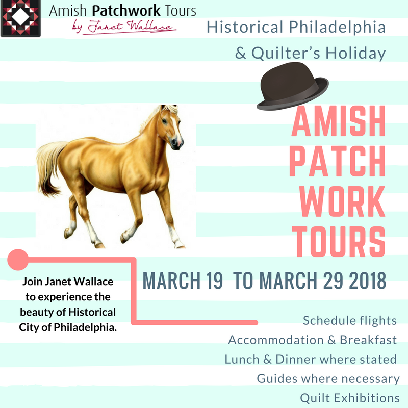 Historical Philadelphia & Quilter's Holiday