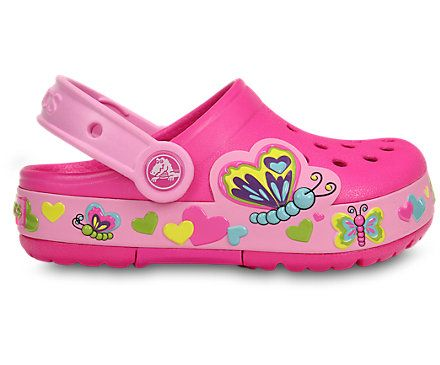 CrocsLights Butterfly Clog | Kids' Comfortable Clogs | Crocs Official Site
