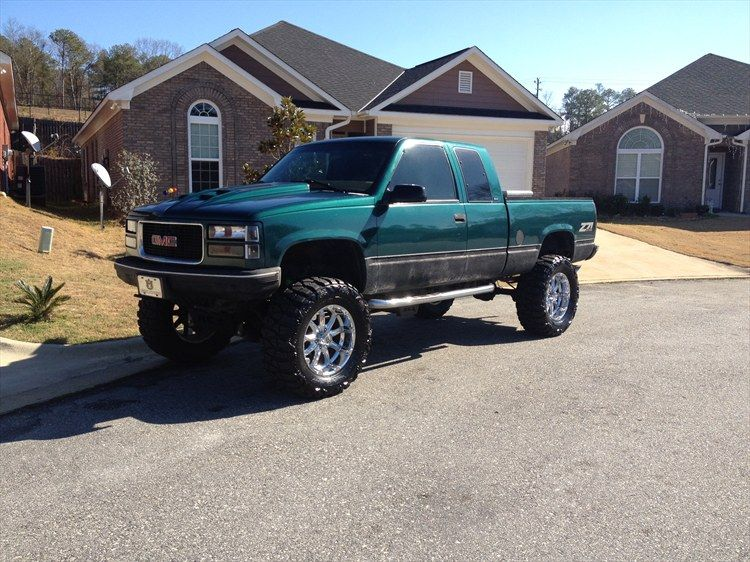 1997 Gmc Sierra 1500 Extended Cab Lifted Chevy Trucks Chevrolet