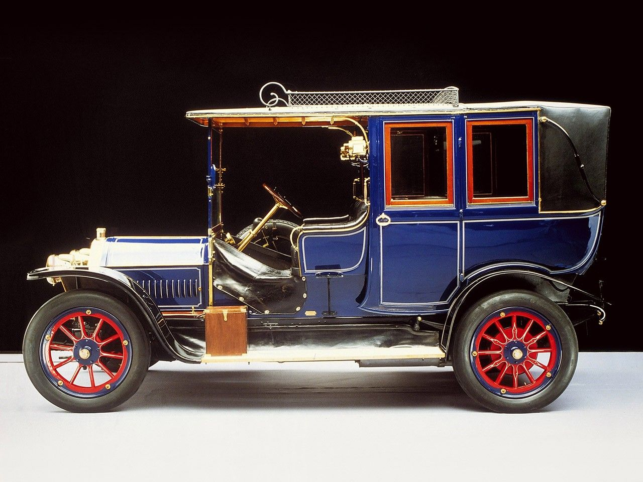 1909 - Mercedes-Benz Landaulet | 1900 to 1910 early CARZ | Pinterest ...