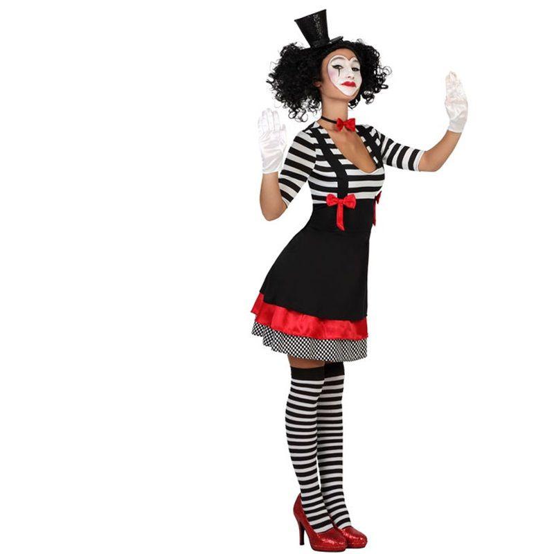 a nuestra coleccin de disfraces originales este nuevo modelo de mimo para chica aunque