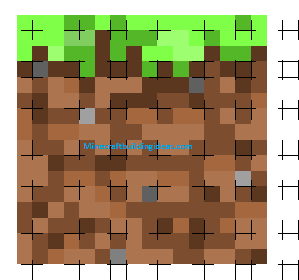 Minecraft Pixel Art Templates Dirt Block Minecraft Quilt Pixel Art Pixel Art Templates