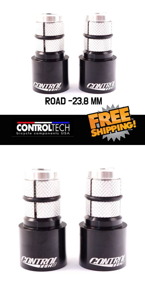 Ends plugs New logo ControlTech Terminator Plugs MTB 22.2mm size Bar