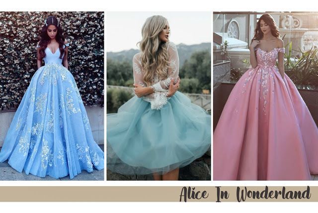 Thematic Prom Dress Ideas alice in wonderland prom homecoming dress ...