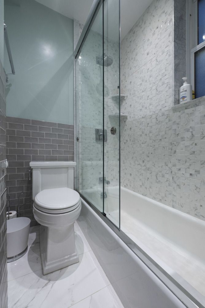 48 West 48th Street Pinterest Gray Subway Tiles Subway Tiles Extraordinary Bathroom Remodeling Nyc