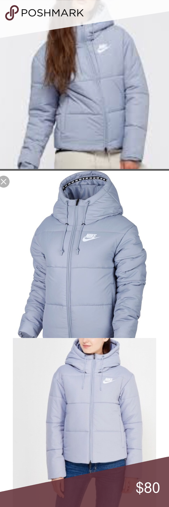 866691e2d6fa NIKE Women Winters Jacket THERMORE light blue L New Women Winter ❄ Jacket  NIKE THERMORE Size L Nike Jackets   Coats Puffers