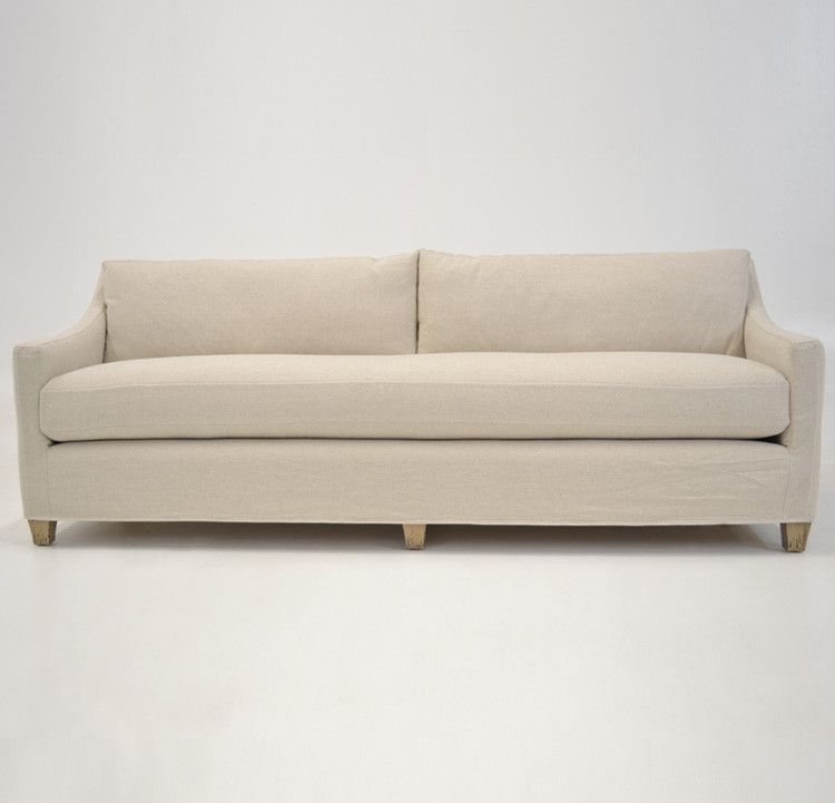 Quatrine Custom Furniture - New Grace Sofa #tailored #slipcovered #sofa