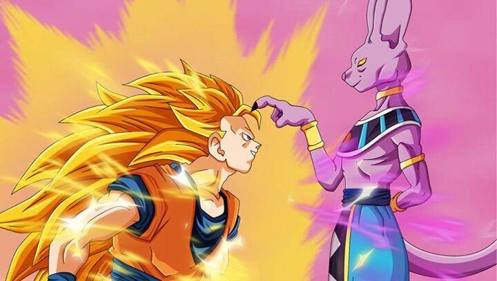 Ss3 Goku Vs Lord Bills Dragones Dragon Ball Dragon Ball Z
