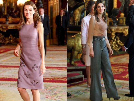 Los estilismos de Doña Letizia en el Día de la Hispanidad