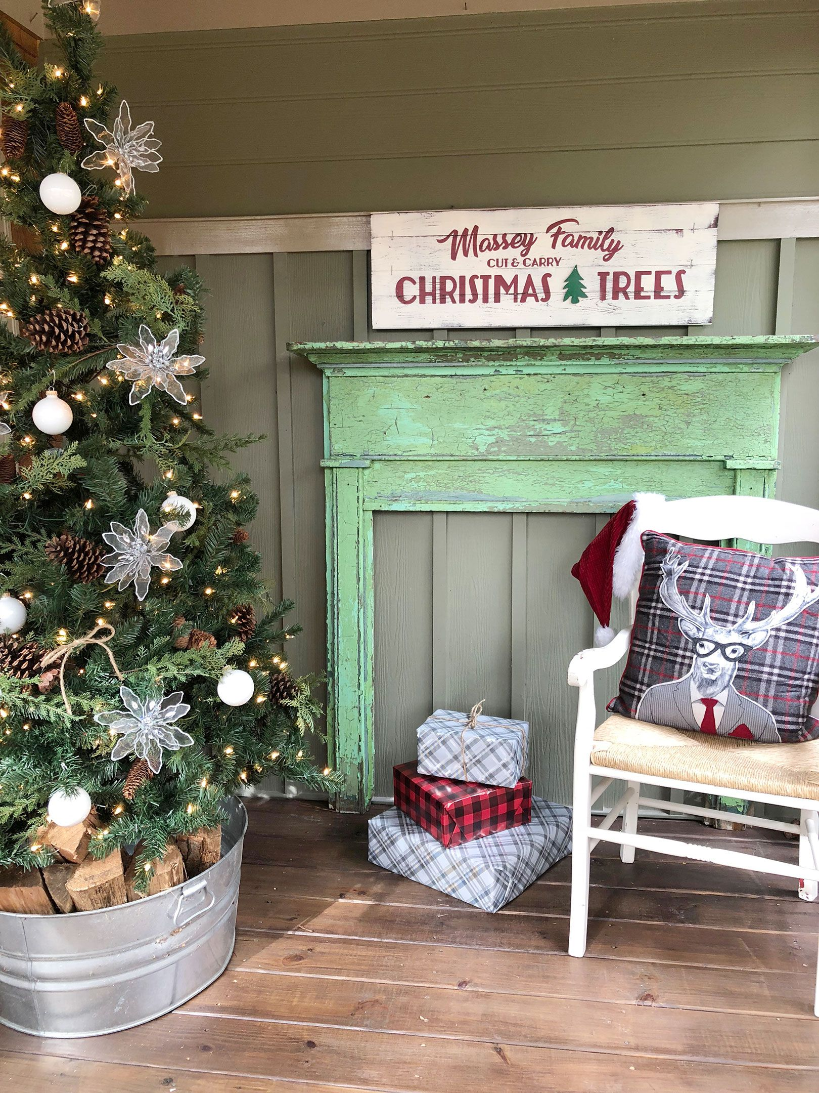 Christmas Trees for sale sign! Your own personalized
