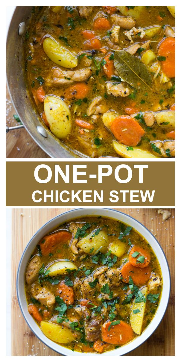 One-Pot Chicken Stew