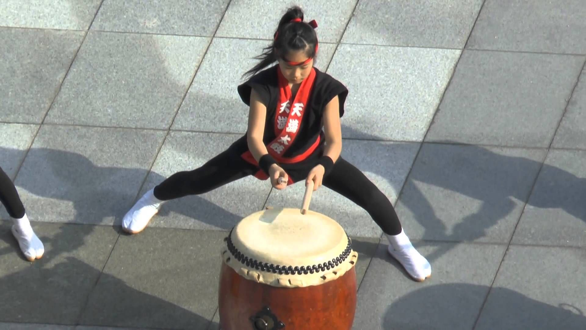 Awesome Sensational Young Taiko Drummers