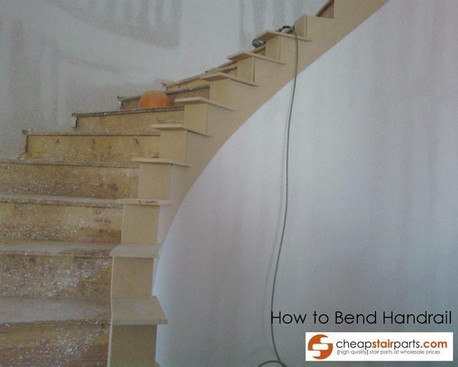 Best How To Bend Wooden Stair Handrail Outdoor Stair Railing 400 x 300