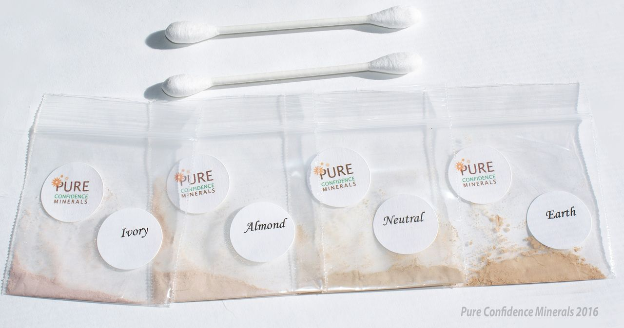 Pure Confidence Minerals - Yellow Undertone Foundation Test Kit, $3.99 (http://www.pureconfidenceminerals.com/yellow-undertone-foundation-test-kit/)