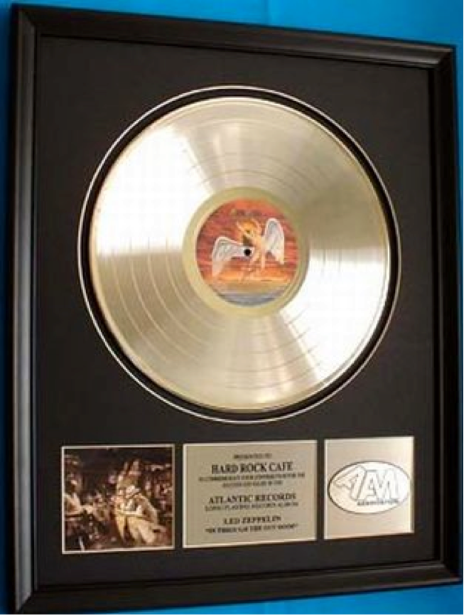 January 7 1980 Led Zeppelin S In Through The Out Door Is Certified Platinum It Will Be Their Last Album Issued While Drummer John Bonham Is Alive
