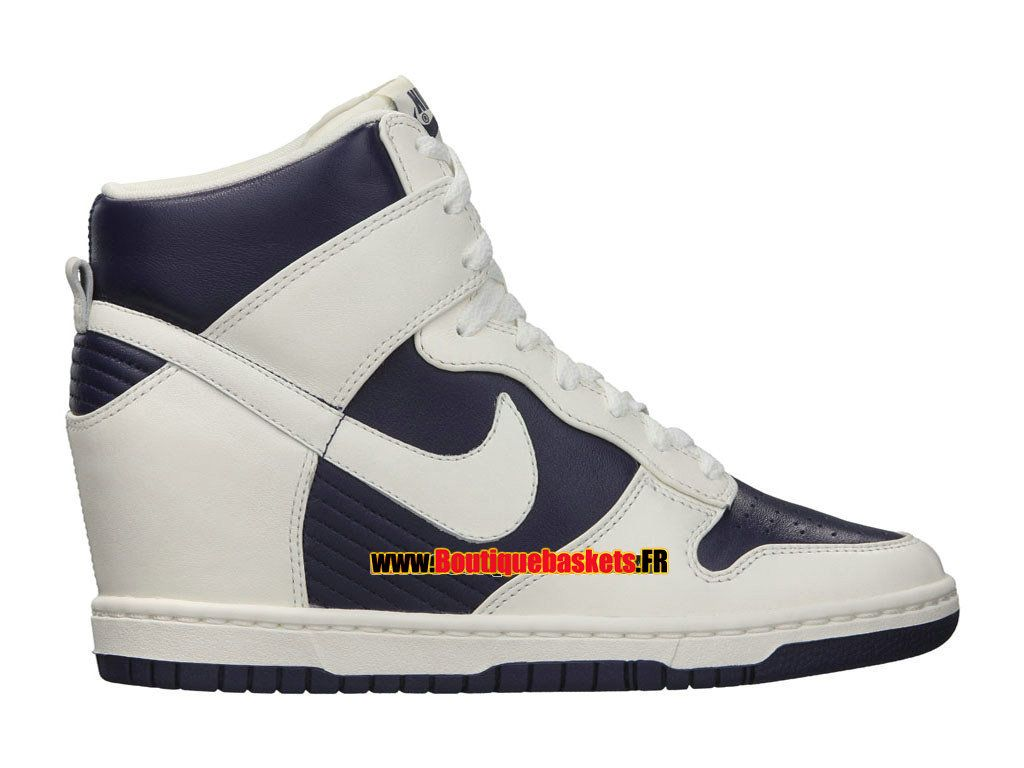 brand new c9d8e f241c Nike Dunk Sky High Vintage GS - Chaussures Nike Montante Pas Cher ...