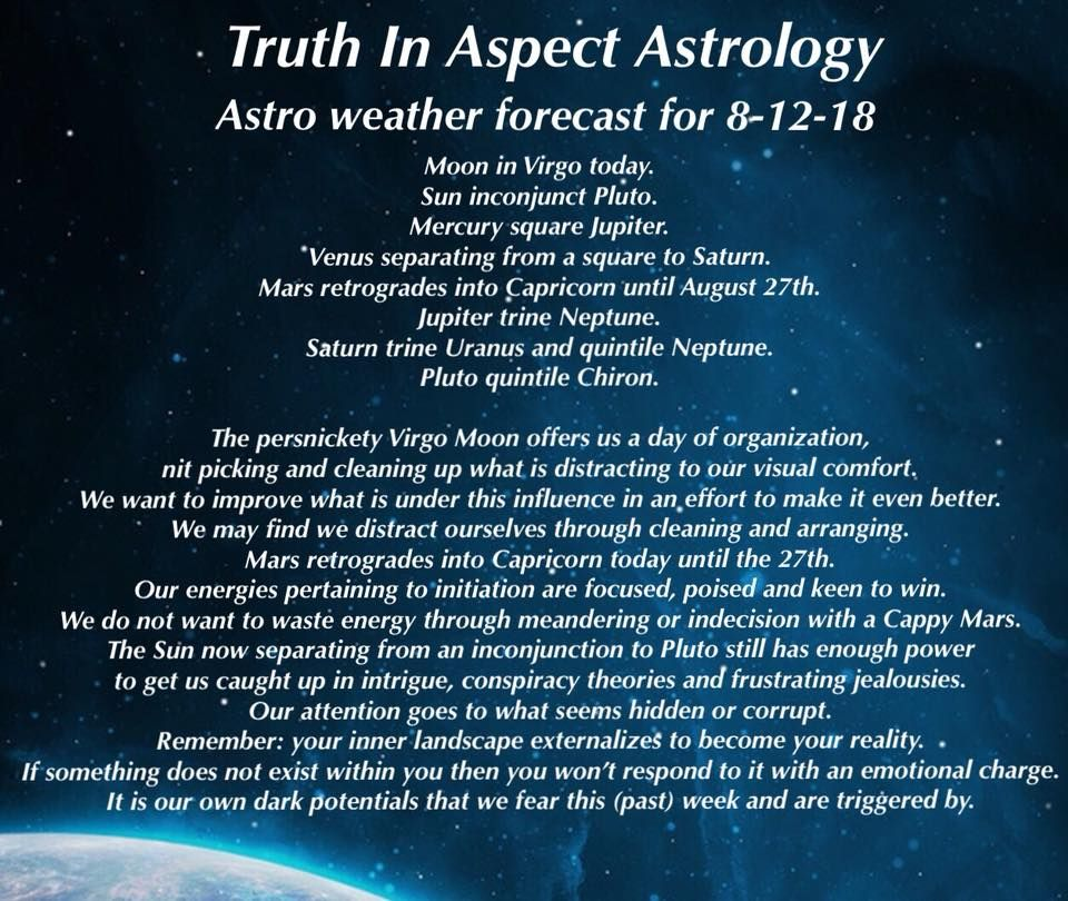 Astrology Weather Today