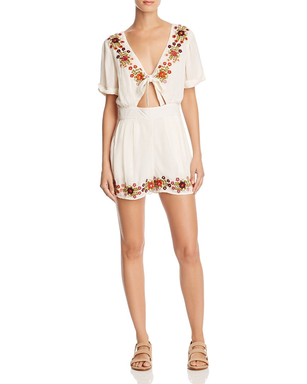 58870b7bee4 Tularosa Rowley Embroidered Romper