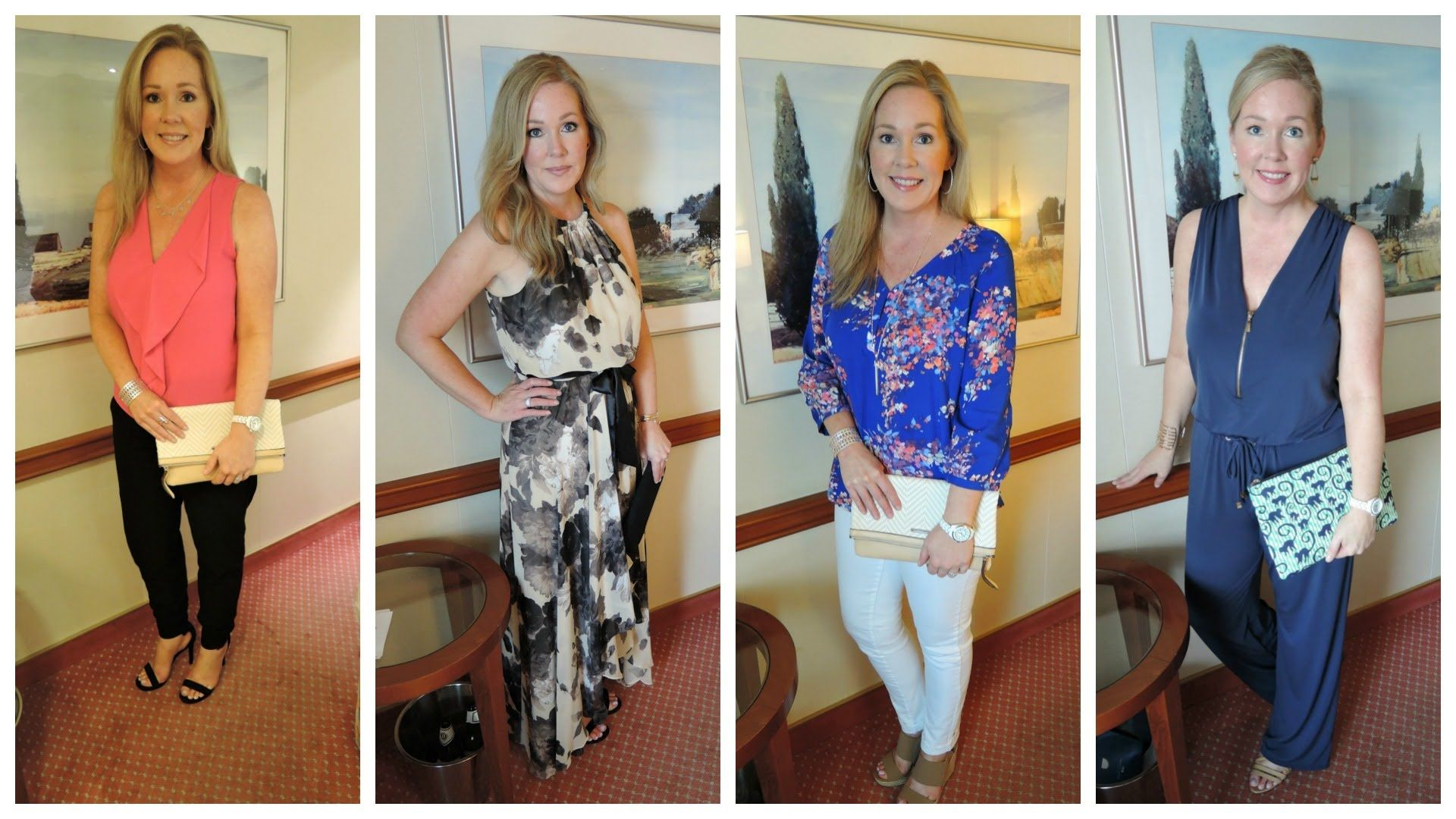 what to wear on a cruise | cruise dinner outfit ideas | panama canal