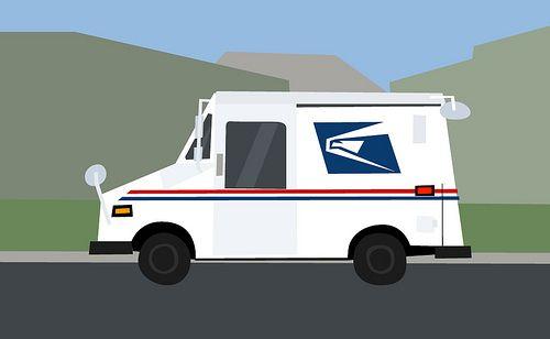 Usps Mail Truck Clip Art Google Search Mail Truck Lip Balm