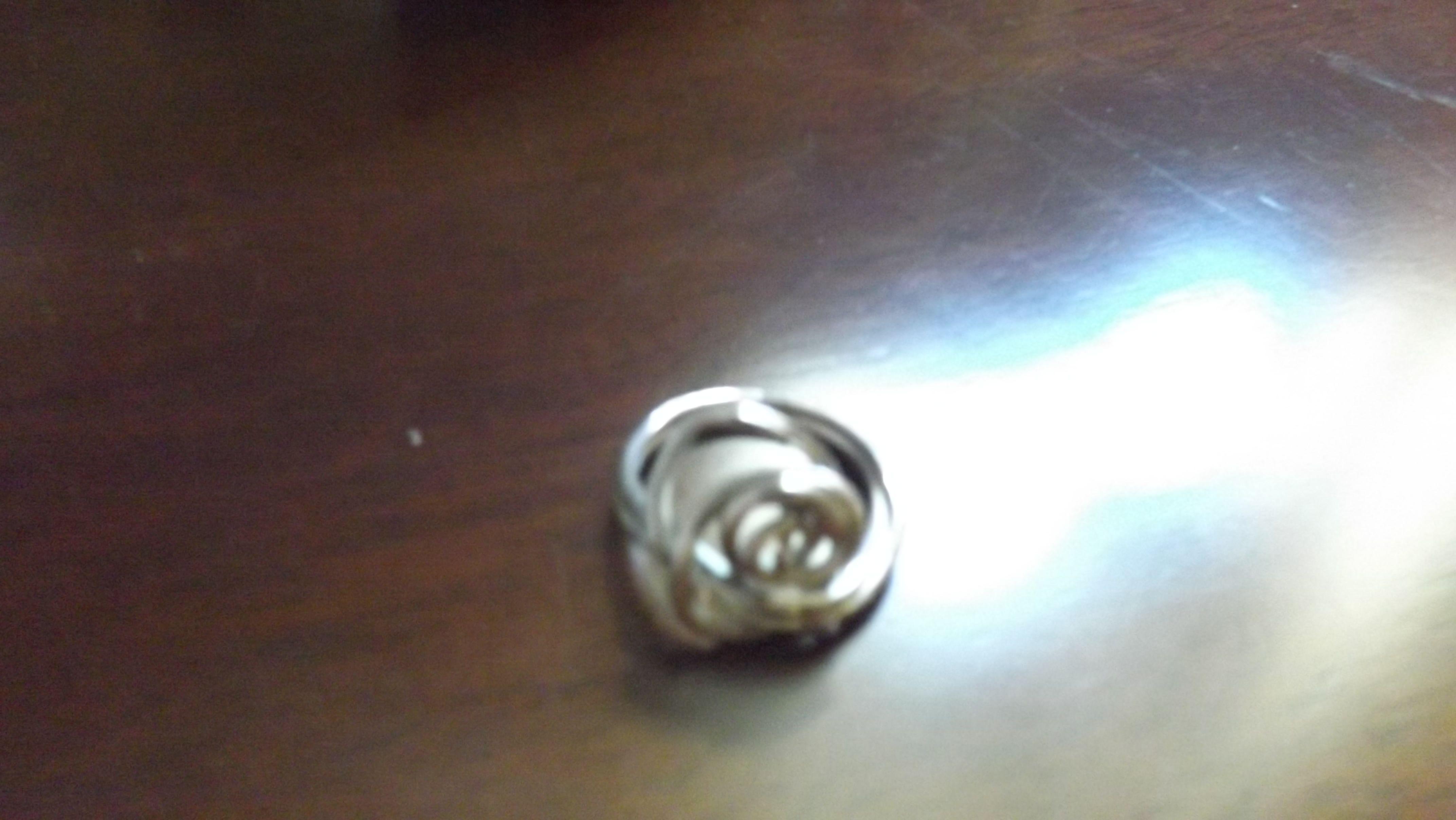 anel fio de prata