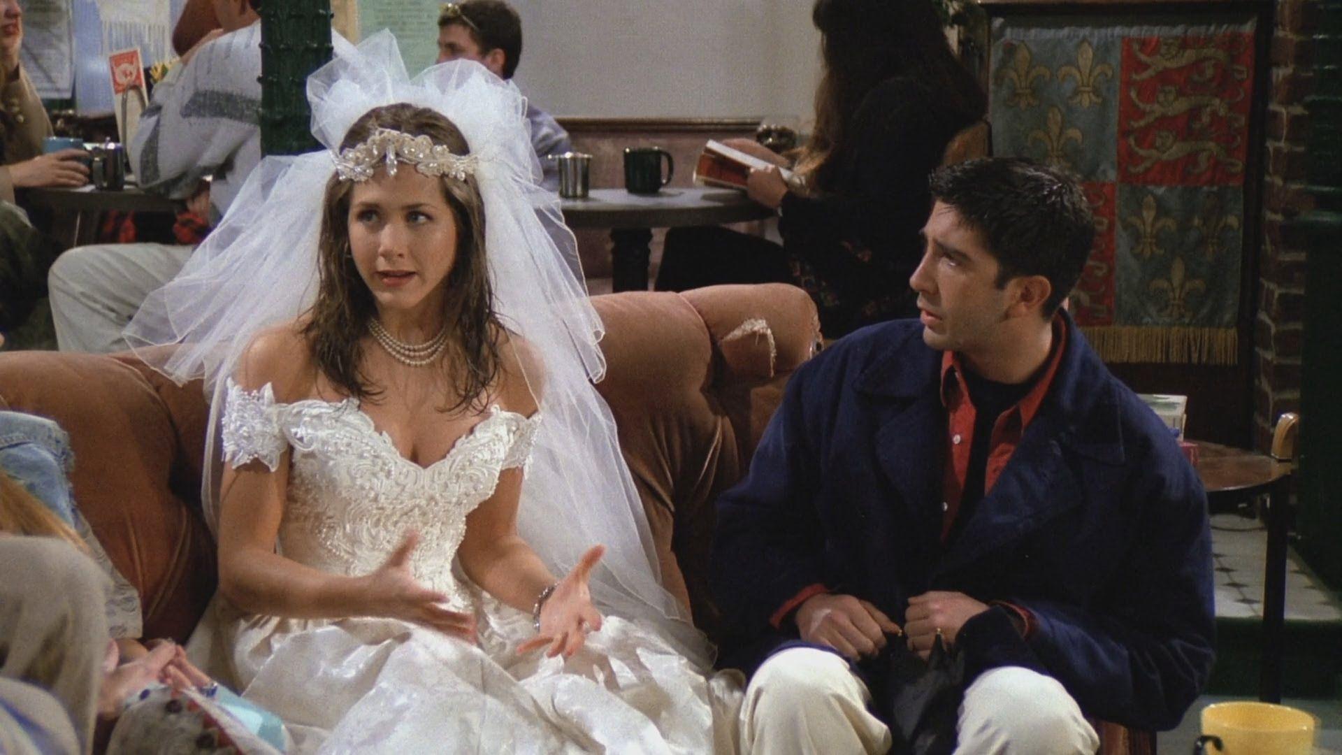 Friends Rachel Runs Away From The Wedding Friends Season 1 Ross And Rachel Rachel Friends [ 1080 x 1920 Pixel ]