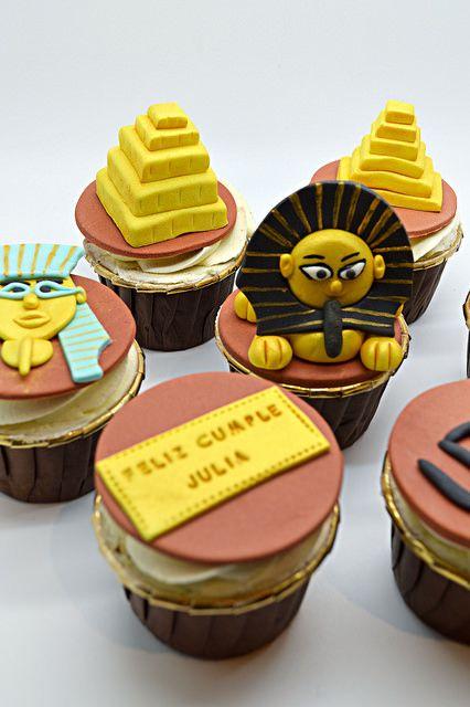 Cupcakes egipcios