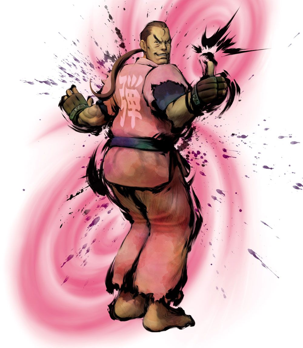 Street fighter characters dan street fighter image - Street Fighter Iv Art Gallery Containing Characters Concept Art And Promotional Pictures