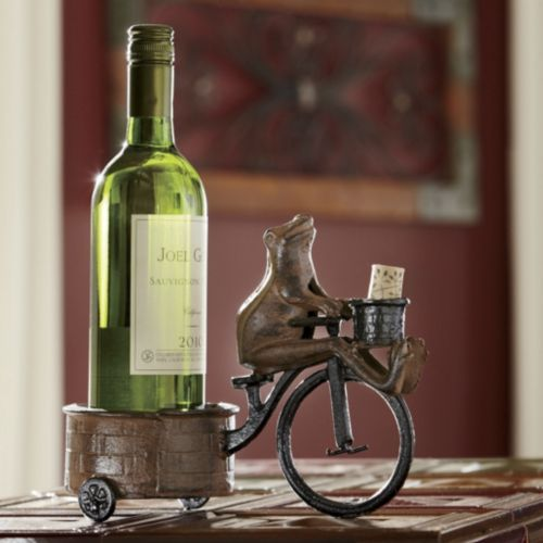 Frog Wine Caddy from Through the Country Door®