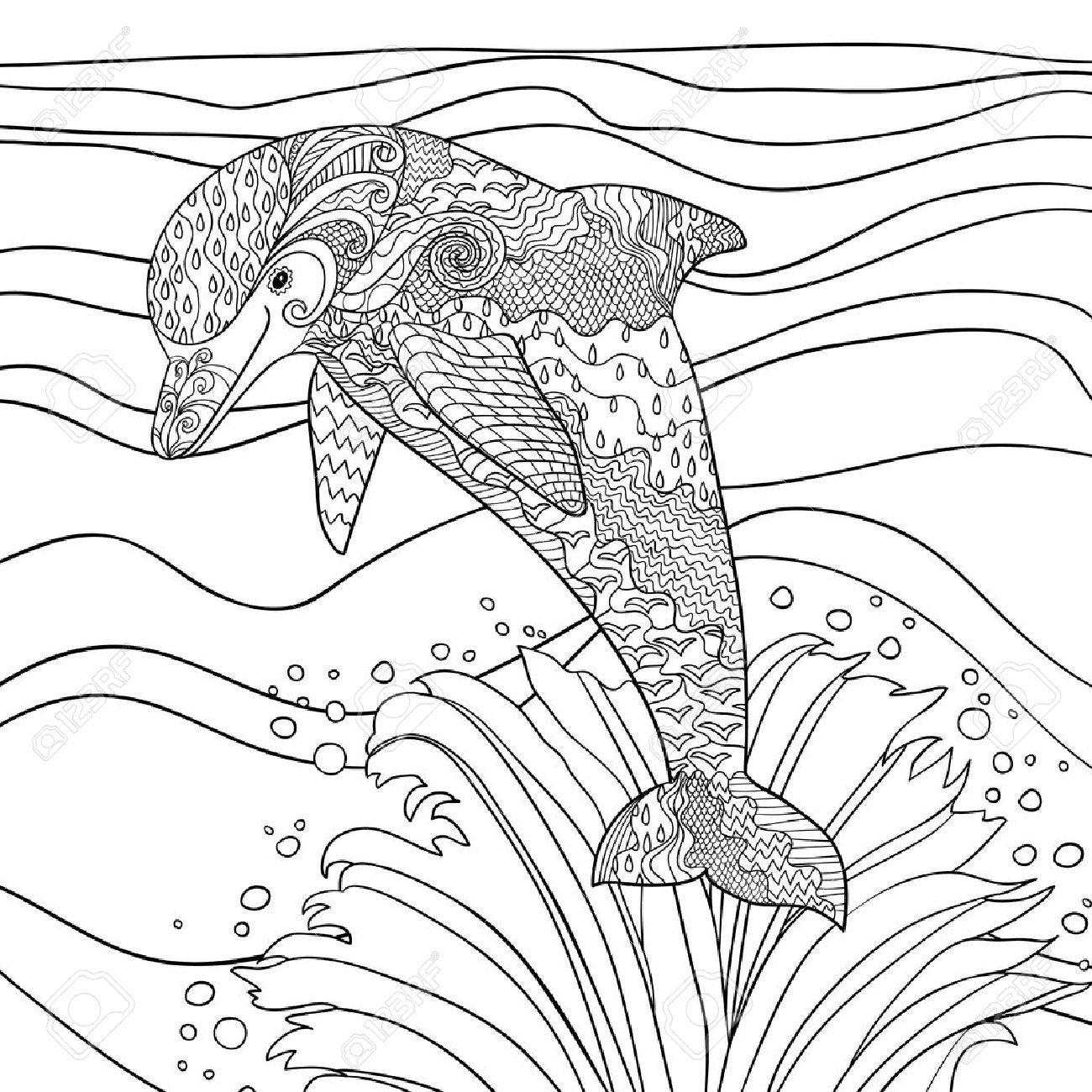 pin de super malvorlagen em delfine malvorlagen