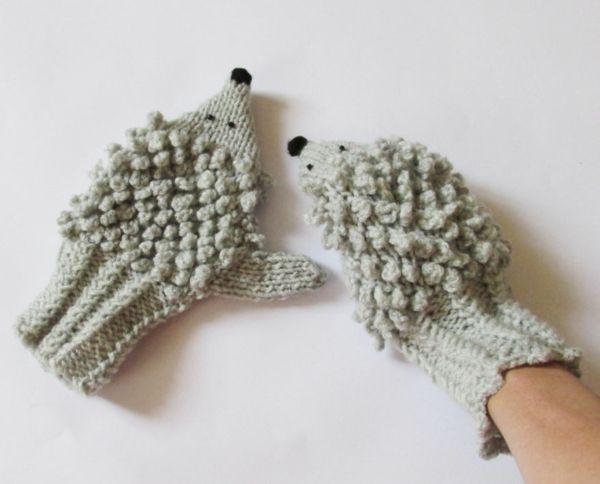 Handschuhe stricken - originelle und ausgefallene Ideen   Pinterest ...