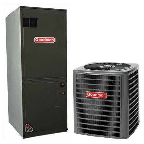 1 5 Ton 14 Seer Goodman Heat Pump Air Conditioner System Heat