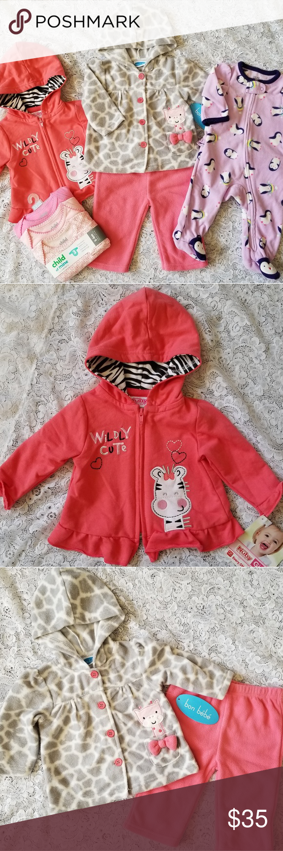 031cfcd67542 Baby Girl Fall Winter Clothing Bundle 3-6m NWT in 2018