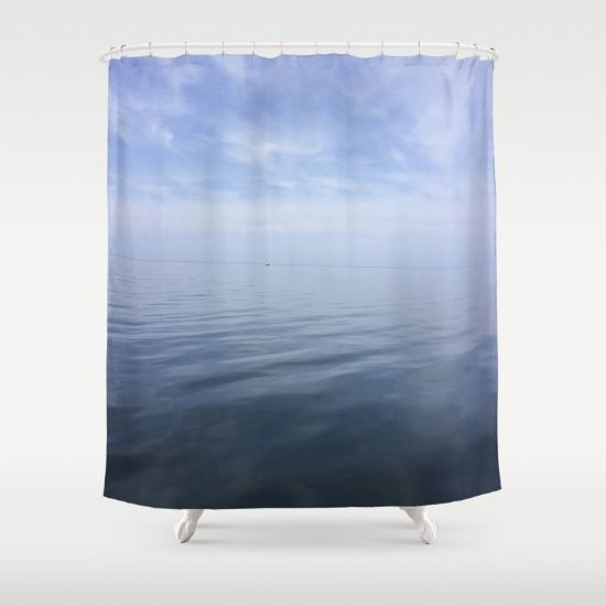 Imagine You Are Floating In Lake Mi While In The Shower Shower Beautiful Lakes Curtains
