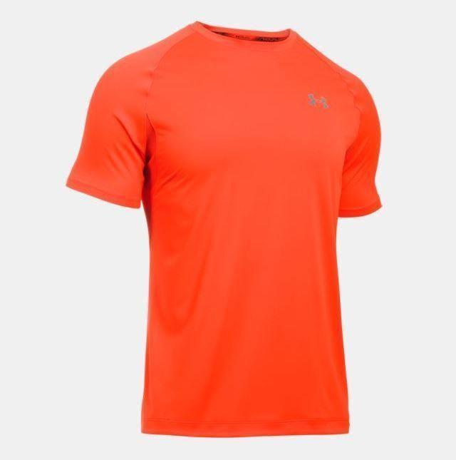 Under Armour Men's Heatgear Short Sleeve Graphic T-Shirt Orange