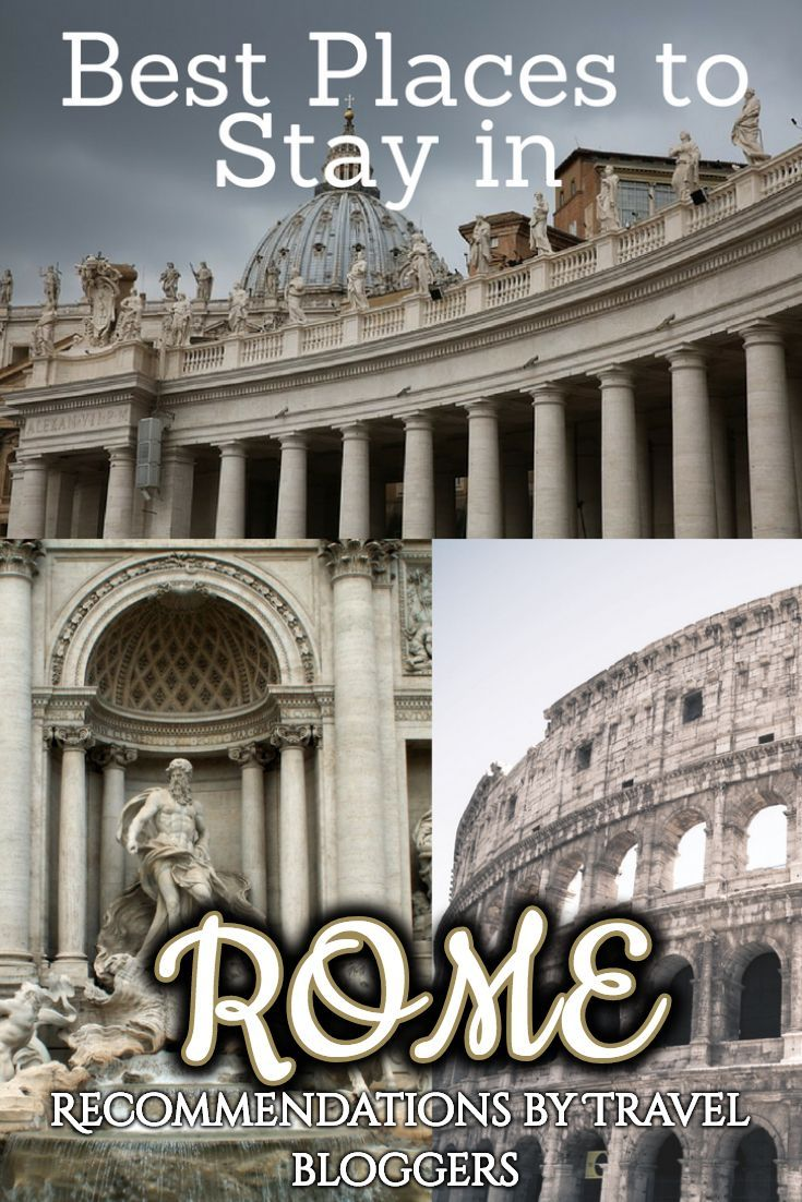 best places to stay in rome with recommendations by travel bloggers