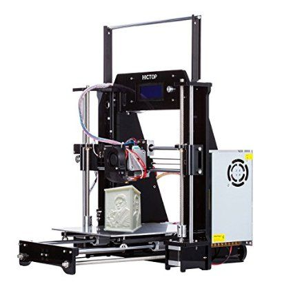 New Arrival Hictop Filament Monitor Desktop 3d Printer Kits Reprap Prusa I3 Mk8 Diy Self Assembly Printing Size 3d Printer Kit Desktop 3d Printer 3d Printer