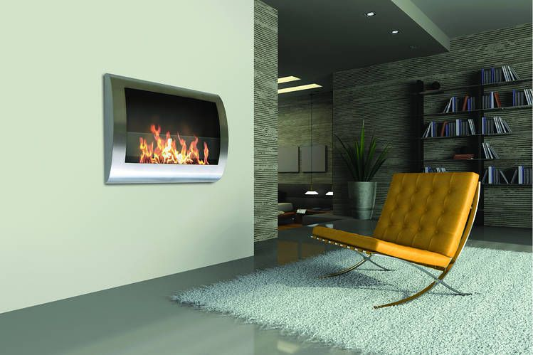 Merveilleux Ventless Fireplaces Burn Alternative Fuels, Meaning No Firewood To Store,  No Smoke And No