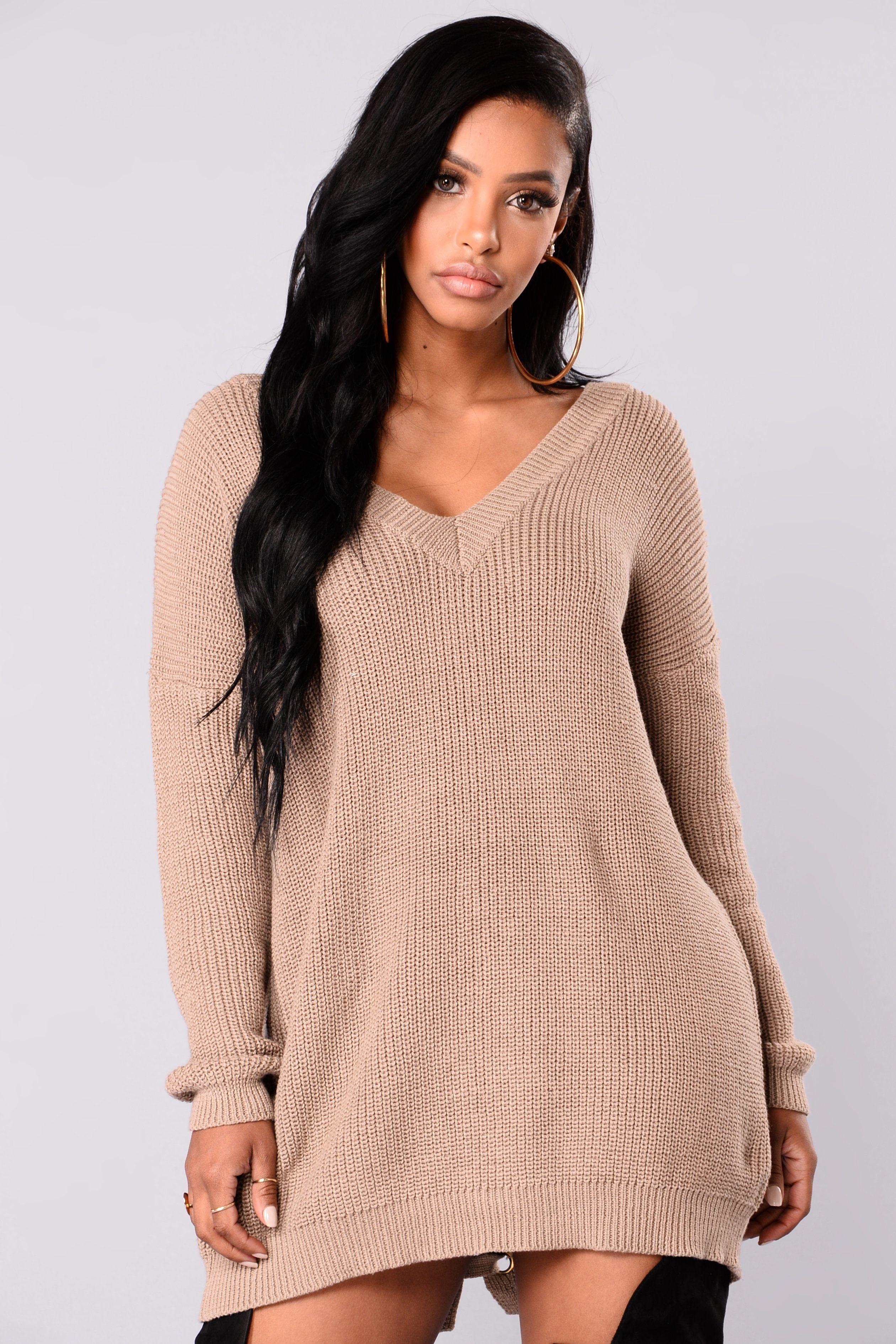 e976234931e Delia Distressed Sweater - Mauve
