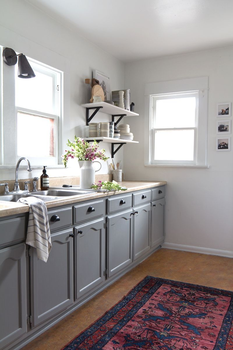 The big reveal my kitchen makeover after photos gray kitchens