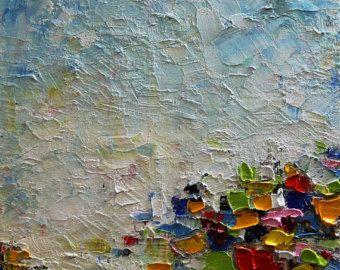 Stampare dal mio originale olio opera d'arte - moderno, contemporaneo 8 x 10