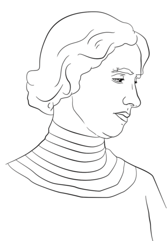 Helen Keller Coloring Page Free Printable Coloring Pages Cizim